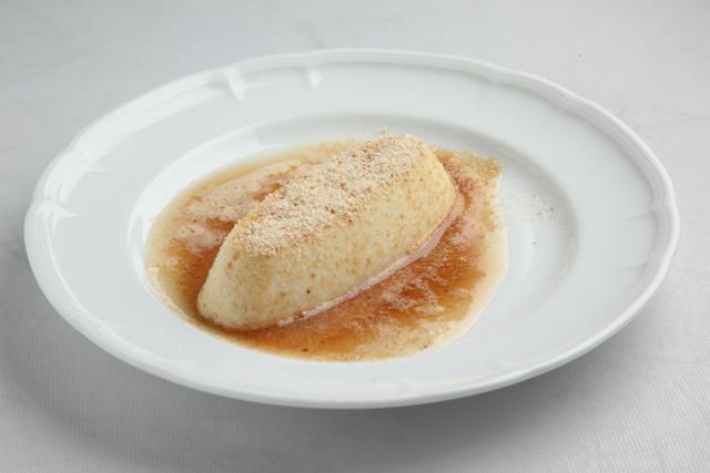 カリカリパン粉の焦がしバター